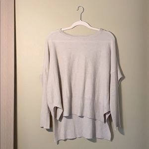 Flattering High-Low Sweater